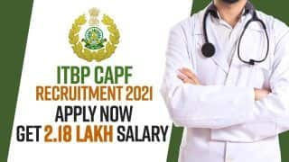 ITBP CAPF Recruitment 2021: Eligibility Criteria, Online Application Process Explained | Watch Video