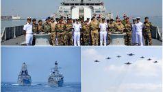 Konkan Shakti 2021: भारत और ब्रिटेन की सेनाओं का अरब सागर में जबरदस्त युद्धाभ्यास, देखकर दंग रह जाएंगे आप