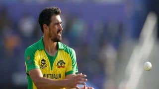 AUS vs SL, T20 World Cup 2021: ऑस्ट्रेलिया को झटका, Mitchell Starc का खेलना संदिग्ध