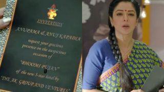 Anupamaa Maha Episode Promo: Anupama All Set To Kick Start New Chapter Of Her Life With Anuj | See Invitation Card