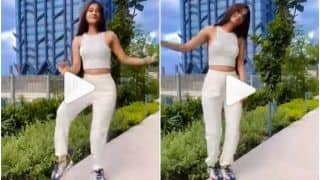 Viral Video: IndiGo Air Hostess Dances to Viral 'Love Nwantiti' Song, Wins Hearts With Her Killer Expressions | Watch