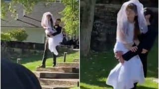 Viral Video: Groom Carries Bride's Specially-Abled Twin Sister Down The Aisle, Wins Hearts | Watch