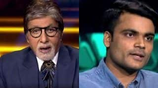 KBC 13: Amitabh Bachchan in Shock After Contestant Chirag Mandot Talks About Brother's Murder