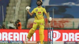 Ruturaj Gaikwad Slams Maiden IPL Century; Becomes First Batter to Breach 500-Run Mark in 2021 Edition