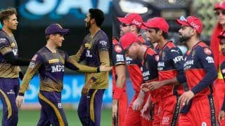 IPL 2021 Points Table: KKR Consolidate 4th Spot, RCB Qualify For Play-off; KL Rahul Reclaim Orange Cap
