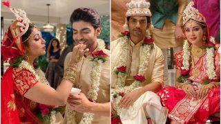 Gurmeet Choudhary-Debina Bonnerjee Marry Again But This Time In Bengali Tradition | View Pics