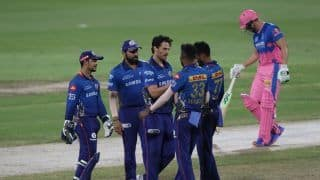 IPL 2021: Nathan Coulter-Nile, Jimmy Neesham Knock Rajasthan Royals Out of Tournament as Mumbai Indians Live to Fight Another Day