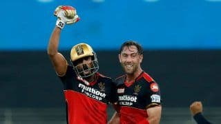 IPL 2021: KS Bharat Seals 7-Wicket Victory For Royal Challengers Bangalore With Last Ball Six Against Delhi Capitals