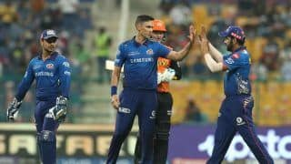 IPL 2021: Mumbai Indians Fail to Qualify For Play-Offs Despite 42-Run Victory Over Sunrisers Hyderabad