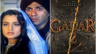 Gadar 2 Announced With Sunny Deol and Ameesha Patel, Fans Say 'Biggest Blockbuster on Its Way'