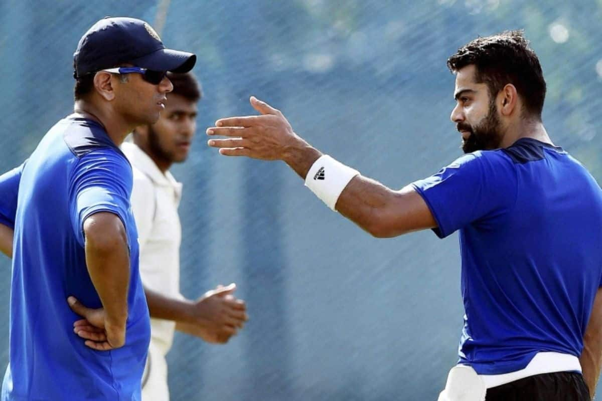 Kohli Responds to Reports About Dravid's Appointment
