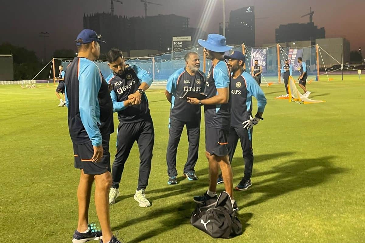 MS Dhoni Joins Team India