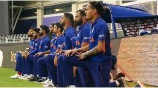 Here's Why Indian Team Took a Knee in T20 World Cup Match Against Pakistan