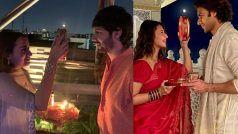 Karwa Chauth 2021: पति की लंबी उम्र के लिए इन हसीनाओं ने रखा व्रत, बॉलीवुड और टीवी के सितारों ने ऐसे मनाया करवा चौथ