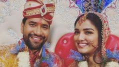 Amrapali Dubey ने निरहुआ के साथ शेयर कर दी ऐसी फोटो, बोलीं- 'हमारे पतिदेव जी', फैन्स हुए हैरान