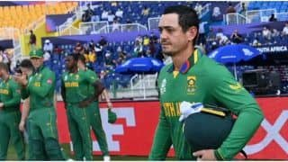 Quinton de Kock Commits To Taking the Knee, Says Not A Racist As Black Lives Matter to Him Since He Was Born