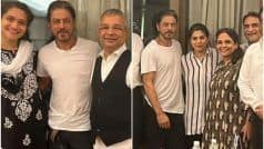 SRK Flashes His Million-Dollar Smile in First Pictures After Aryan's Bail, Poses With Legal Team