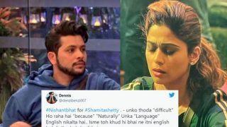 Bigg Boss 15: Netizens Slam Nishant Bhat After he Nominates Shamita Shetty For Speaking in English