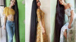Real-Life Rapunzel: Meet Akanksha Yadav, Woman With India's Longest Hair That Measures Over 9 Feet | Watch
