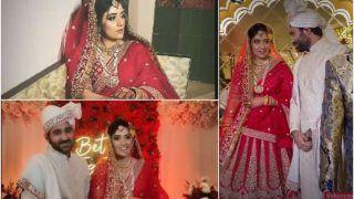 Yeh Hai Mohabbatein Actor Shireen Mirza Marries Hasan Sartaj in Jaipur- See Pics From Royal Wedding