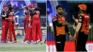 IPL 2021, RCB vs SRH: Virat Kohli & Co. Eye For a Top 2 Finish