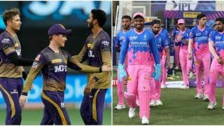 IPL 2021, KKR vs RR: Eoin Morgan & Co. Hoping to Trounce Rajasthan For a Play-Off Berth