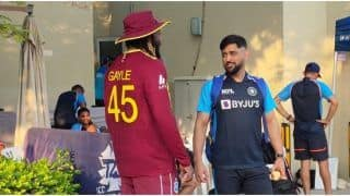 T20 World Cup 2021: 'Memorable Moment' When MS Dhoni Caught up With Chris Gayle