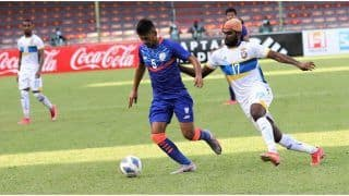SAFF Championship 2021 Match Highlights India vs Sri Lanka Match 5 Today Football Updates: Lack-Lustre India Play Out a Goalless Draw Against Sri Lanka
