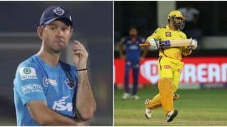 IPL 2021: Ponting Hails MS Dhoni as One of the Greatest of All Time