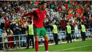 WC 2022 Qualifiers: Cristiano Ronaldo Nets 10th International Hattrick, Takes International Tally to 115 goals as Portugal Trounce Luxembourg by 5-0