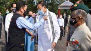 China Objects to Vice President Venkaiah Naidu's Visit to Arunachal Pradesh