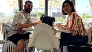 Anushka Sharma-Virat Kohli Are All Smiles As They Enjoy Breakfast With Little Vamika | See Pic