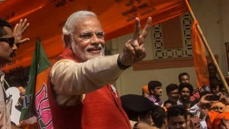 Narendra Modi-led BJP on the verge of thumping victory in Uttar Pradesh