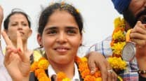 Asian Games 2014 Silver Medalist Khushbir Kaur gets grand welcome at her home town Amritsar