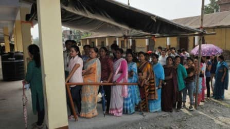 Nearly 72 per cent poll recorded till 4 pm in West Bengal
