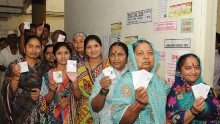 27.52 percent polling in Maharashtra till 1 PM
