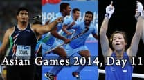 Asian Games 2014 Live Updates: Vikas Gowda's silver; Mary Kom and Men's Hockey Team race to final round up Day 11
