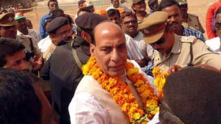 Lok Sabha Elections 2014: BJP president Rajnath Singh files nomination from Lucknow
