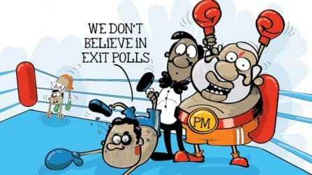 Exit poll results: Narendra Modi emerges as the front runner