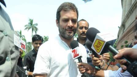 Rahul Gandhi takes up fight for food park, alleges