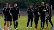 Champions League: Petr Cech, John Terry, Eden Hazard and Samuel Eto'o return to training for Chelsea