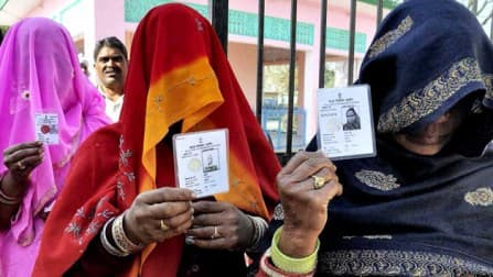 Over 60 per cent turnout in Uttar Pradesh amid violent clashes, boycott