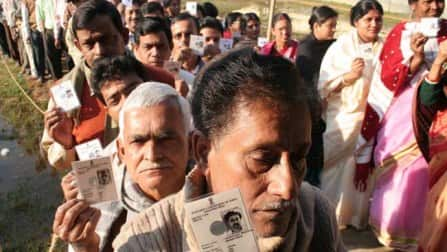 About five millon people vote in Madhya Pradesh