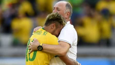 Make the final for Neymar, implores Luiz Felipe Scolari