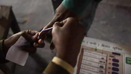 Nearly half of Bastar votes, two troopers injured