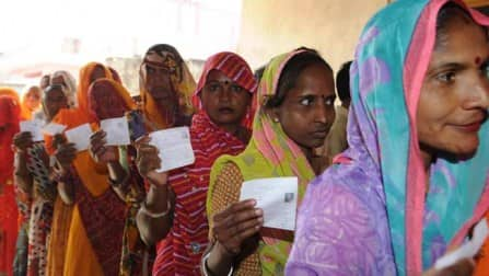 Polling begins in 9 Lok Sabha constituencies in Madhya Pradesh