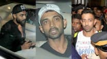 Rohit Sharma, Ajinkya Rahane, Ravindra Jadeja and Dhawal Kulkarni spotted at Mumbai Airport