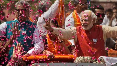 Website had predicted Narendra Modi would led BJP by winning 333 LS seats