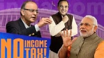 Union Budget 2015-16: Will Finance Minister Arun Jaitley abolish Income Tax altogether?