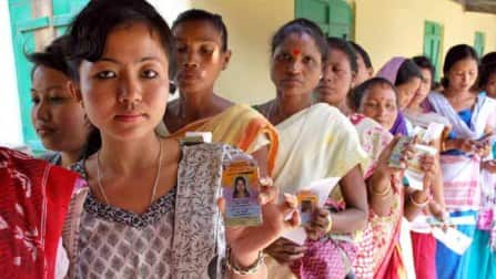 17 percent voting in first two hours in Assam